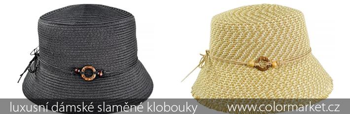 luxusní dámské slaměné klobouky fe716b09b7