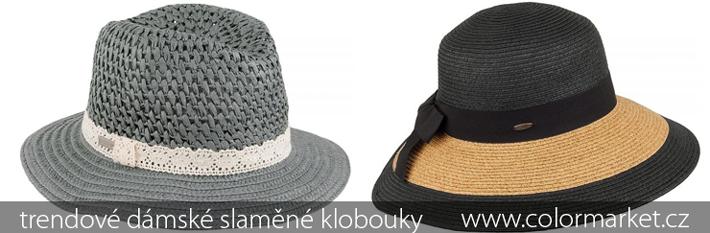 DÁMSKÉ SLAMÁKY. dámské slaměné klobouky ... 5c545e30a8