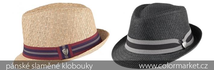 PÁNSKÉ SLAMÁKY. pánské slaměné klobouky ... e2683f4a8f